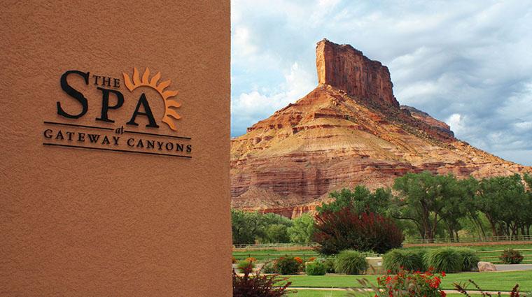Property TheSpaatGatewayCanyons Spa SpaSignage NobleHouseHotels&Resorts