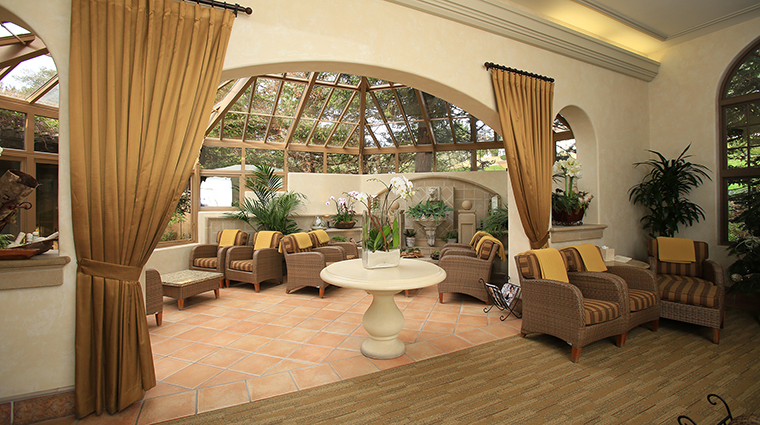 Property TheSpaatPebbleBeach Spa Conservatory PebbleBeachCompany