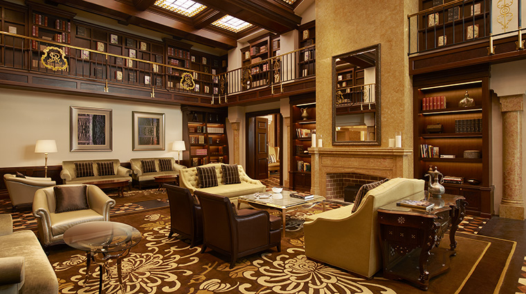 Property TheStRegisAbuDhabi Hotel BarLounge TheStRegisBarLibrary MarriottInternationalInc