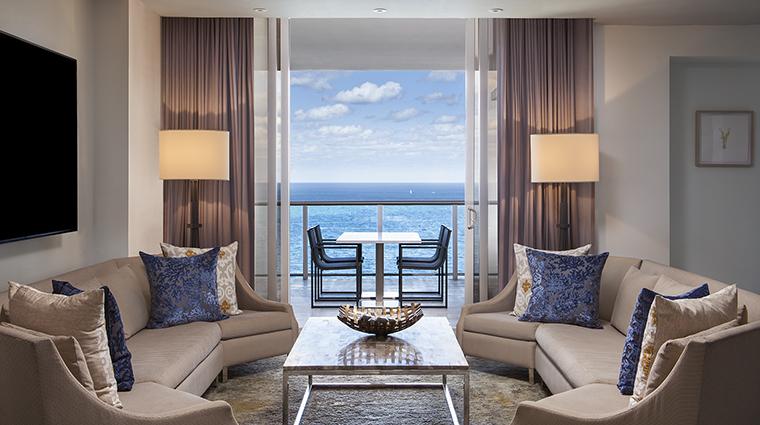 Property TheStRegisBalHarbourResort Hotel GuestroomSuite SkyPalaceSuiteLivingRoom MarriottInternationalInc