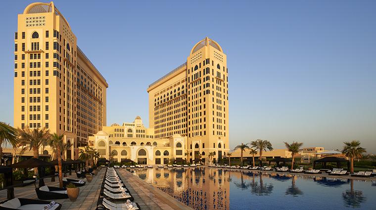 Property TheStRegisDoha Hotel Exterior ExterioratSunrise MarriottInternationalInc