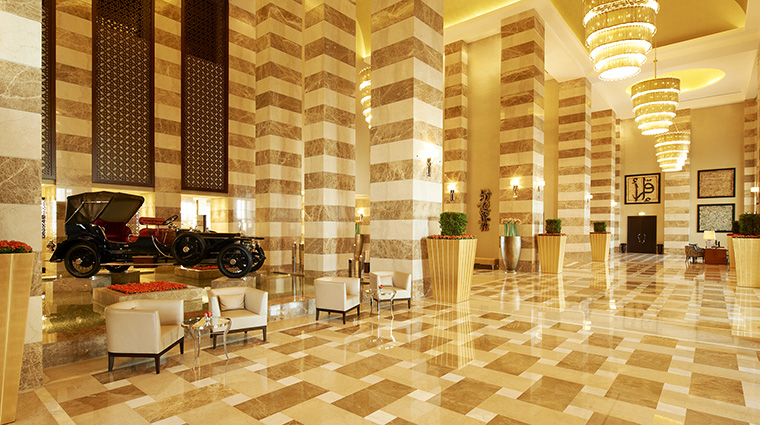 Property TheStRegisDoha Hotel PublicSpaces Lobby MarriottInternationalInc