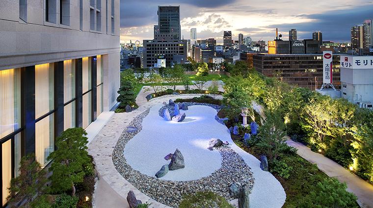 Property TheStRegisOsaka Hotel PublicSpaces Garden StarwoodHotels&ResortsWorldwideInc