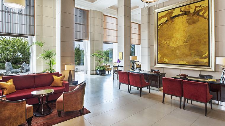 Property TheStRegisOsaka Hotel PublicSpaces Reception StarwoodHotels&ResortsWorldwideInc