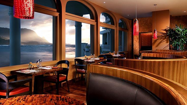 Property TheStRegisPrincevilleResort Hotel Restaurant KauaiGrill CreditStarwoodHotelsandResortsWorldwideInc