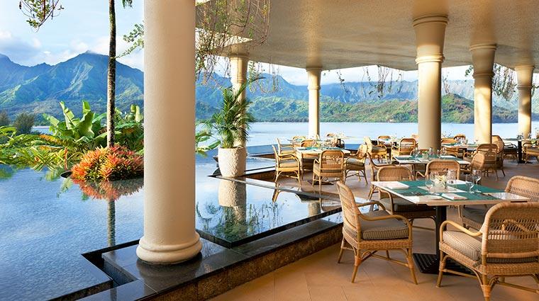 Property TheStRegisPrincevilleResort Hotel Restaurant MakanaTerrace CreditStarwoodHotelsandResortsWorldwideInc