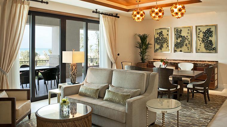 Property TheStRegisSaadiyatIslandResortAbuDhabi Hotel GuestroomSuite MajesticSuiteLivingRoom MarriottInternationalInc