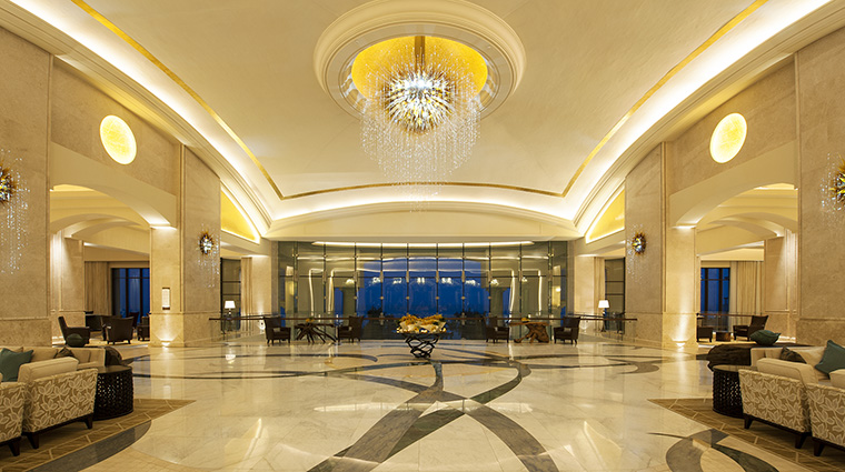 Property TheStRegisSaadiyatIslandResortAbuDhabi Hotel PublicSpaces Lobby MarriottInternationalInc
