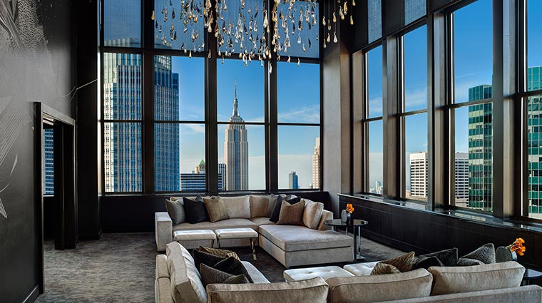 nyc living room the towers at lotte new york palace new york city hotels 11328