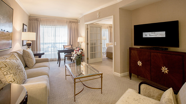 Property TheTownsendHotel Hotel GuestroomSuite LuxurySuiteLivingArea TheTownsendHotel