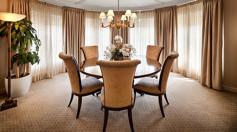 Property TheTownsendHotel Hotel GuestroomSuite PresidentialSuiteDiningRoom TheTownsendHotel