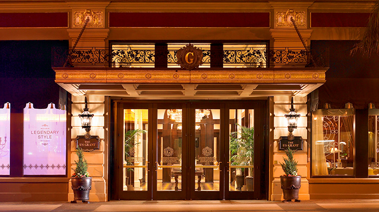 Property TheUSGrant Hotel Exterior 4thAvenueExteriorEntry StarwoodHotels&ResortsWorldwideInc