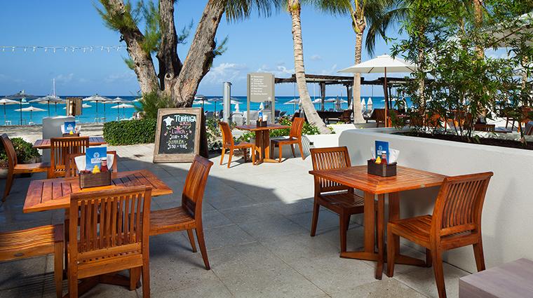 Property TheWestinGrandCaymanSevenMileBeachResortandSpa Hotel Dining TortugaBeachgrill&Bar MarriottInternational