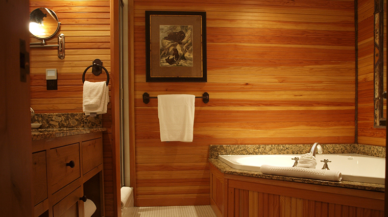 Property TheWhitefaceLodge Hotel GuestroomSuite GuestBathroom TheWhitefaceLodge