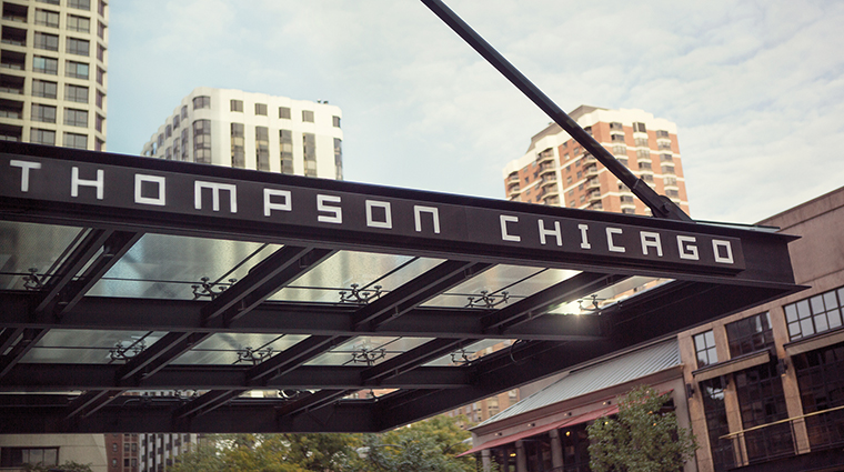 Property ThompsonChicago Hotel Exterior EntranceSignage ThompsonHotels