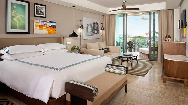 Property ThompsonPlayadelCarmen Hotel GuestroomSuite LuxuryKing ThompsonHotels