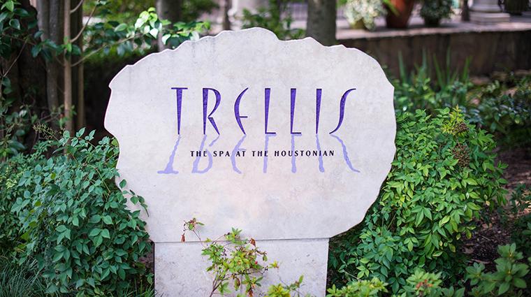 Property TrellisTheSpaatTheHoustonian Spa Signage TheHoustonianHotelClub&Spa