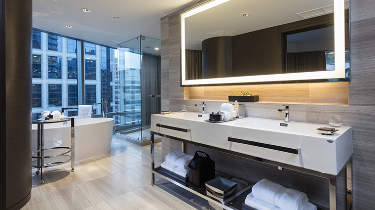 Property TrumpInternationalHotel&TowerVancouver Hotel GuestroomSuite GrandDeluxeOneBedroomSuiteMasterBath TrumpInternationalHotelsManagementLLC