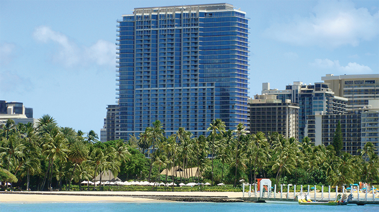 Property TrumpWaikiki Hotel 2 Exterior TrumpWaikikiOverlookingThePacificOcean CreditTrumpInternationalHotel