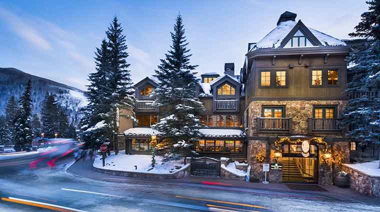 Property VailMountainLodge Hotel Exterior WinterExterior VailMountainLodgeandSpa