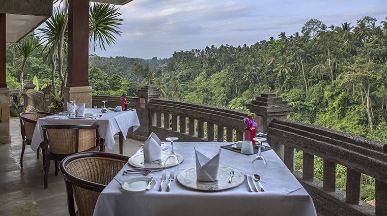 Property ViceroyBali Hotel Dining CascadesRestaurantView ViceroyBali