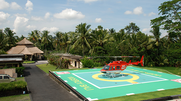 Property ViceroyBali Hotel PublicSpaces HelicopterPad ViceroyBali