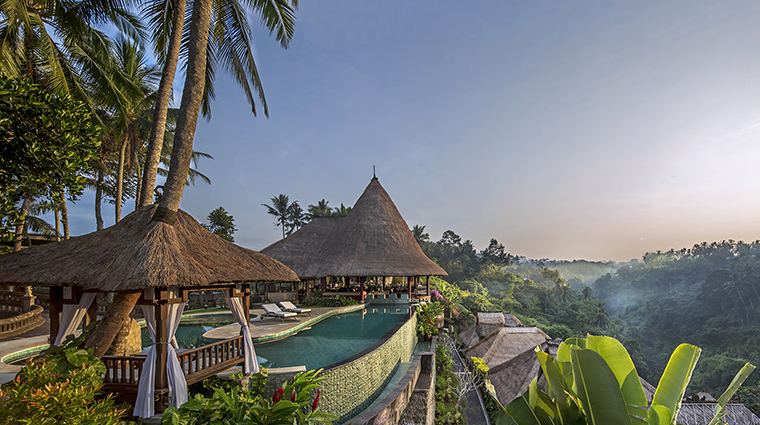 Property ViceroyBali Hotel PublicSpaces MainPoolSunrise ViceroyBali