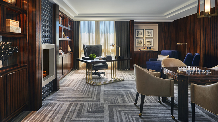 Property ViceroyLErmitageBeverlyHills Hotel GuestroomSuite PresidentialSuiteOffice ViceroyHotelGroup
