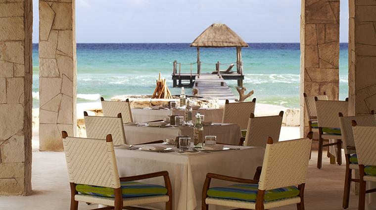 Property ViceroyRivieraMaya Hotel Dining CoralBar&Grille ViceroyHotelGroup