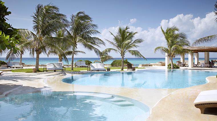 Property ViceroyRivieraMaya Hotel PublicSpaces InfinityPool ViceroyHotelGroup