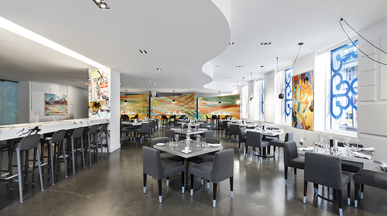 Property WMontreal Hotel Dining EATRestaurant MarriottInternationalInc