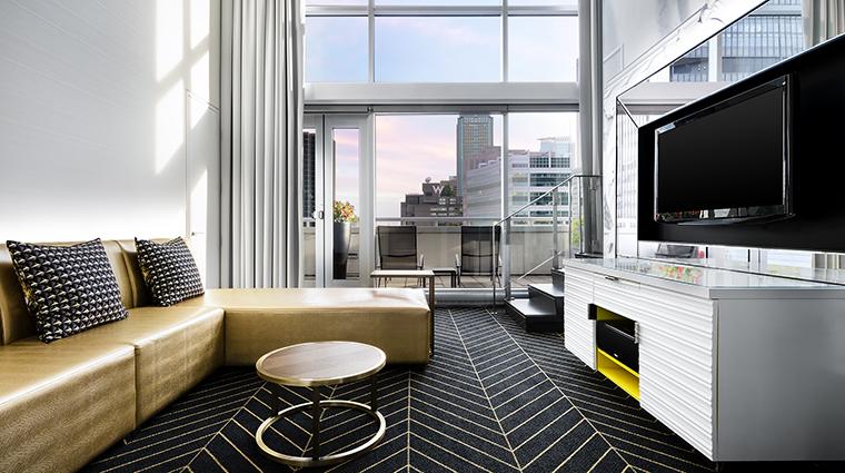 Property WMontreal Hotel GuestroomSuite WOWSuiteLivingRoom MarriottInternationalInc