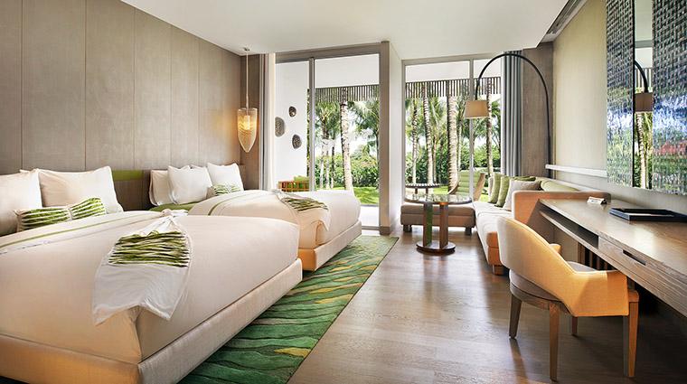 Property WRetreat&SpaBaliSeminyak Hotel GuestroomSuite WonderfulGardenVIewRoom MarriottInternationalInc