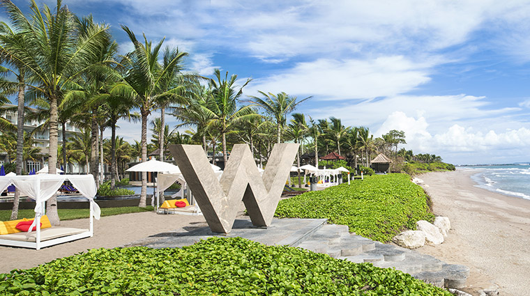 Property WRetreat&SpaBaliSeminyak Hotel PublicSpaces Beach MarriottInternationalInc