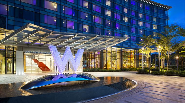 Property WSingaporeSentosaCove 1 Hotel Exterior Entrance CreditStarwoodHotelsandResotsWorldwideInc