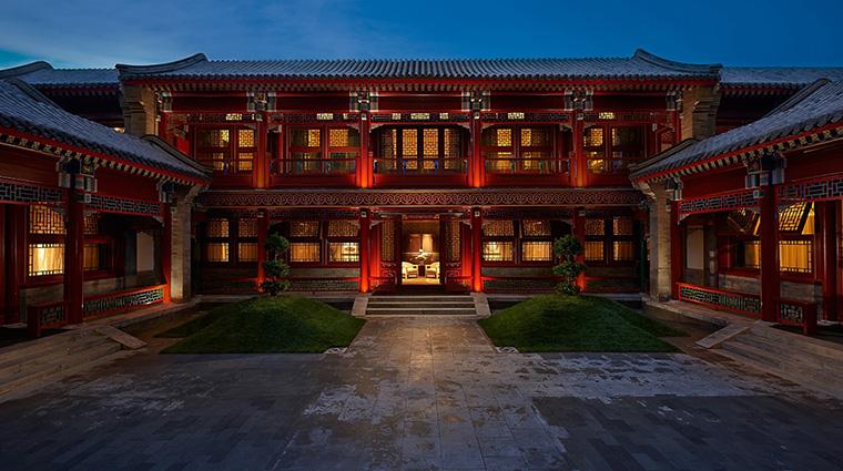 Property WaldorfAstoriaBeijing Hotel Exterior HutongVilla HiltonWorldwide