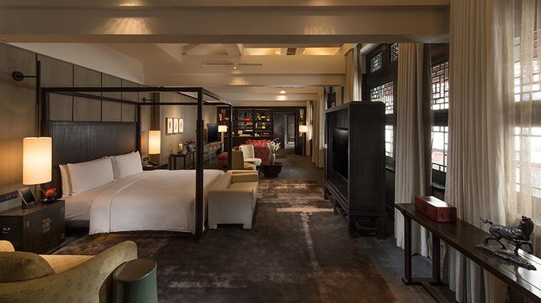 Property WaldorfAstoriaBeijing Hotel GuestroomSuite HutongVillaMasterBedroom HiltonWorldwide