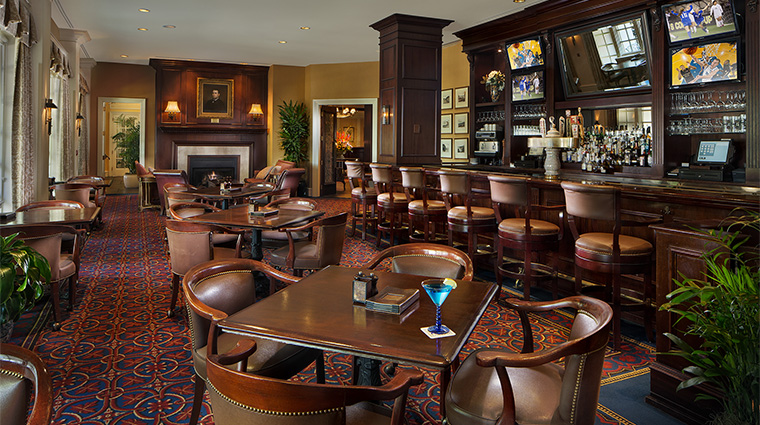 Property WashingtonDukeInn Hotel BarLounge BullDurhamBar WashingtonDukeInn