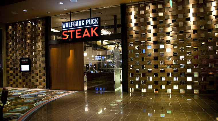 Property WolfgangPuckSteak Restaurant Dining Entrance MGMResortsInternational