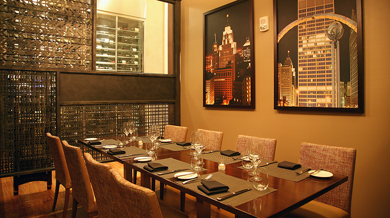 Property WolfgangPuckSteak Restaurant Dining PrivateDining MGMResortsInternational