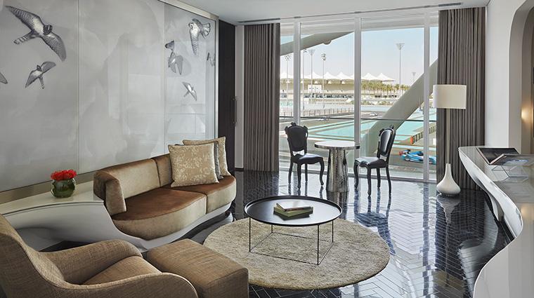 Property YasViceroyAbuDhabiHotel Hotel GuestroomSuite SuiteLivingRoom ViceroyHotelGroup