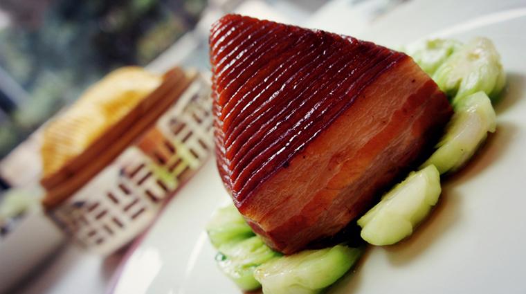 Property YongYiTing Restaurant Dining BraisedSoyPork MandarinOrientalHotelGroup