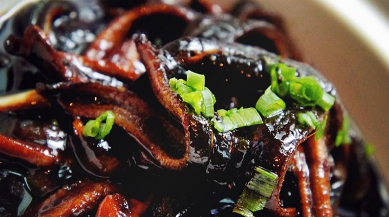 Property YongYiTing Restaurant Dining SauteedEelStrips MandarinOrientalHotelGroup