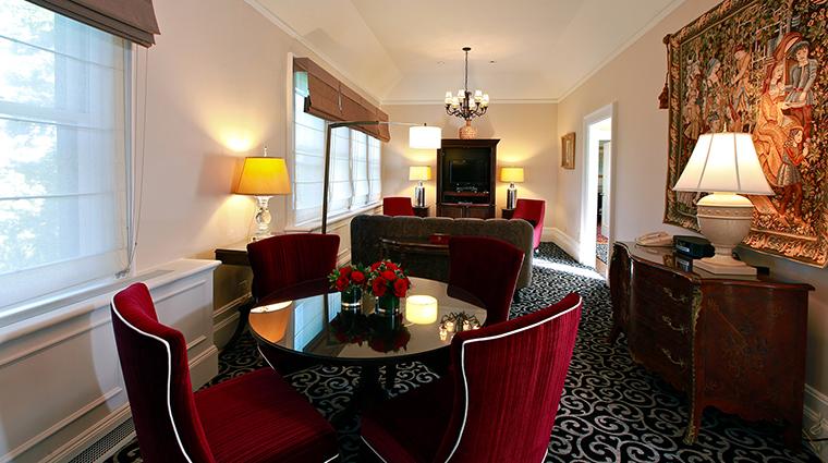 PropertyImage CastleHotel 11 Hotel GuestroomSuites LivingRoom CreditCastleHotelandSpa