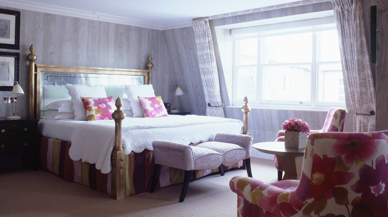 PropertyImage CharlotteStreetHotel 5 Hotel GuestroomSuite PenthouseSuite Bedroom CreditFirmdaleHotels