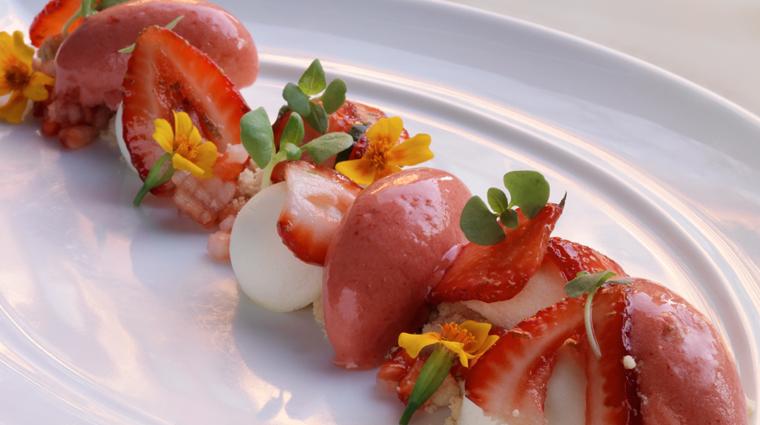 PropertyImage Deuxave 10 Restaurant Food StrawberryCheesecake CreditAndyRyan
