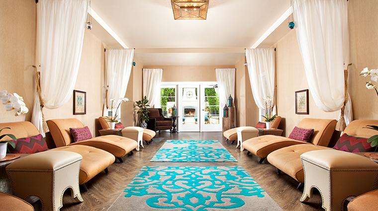PropertyImage EstanciaLaJollaHotelandSpa 16 Hotel Spa IndoorRelaxationRoom CreditEstanciaLaJollaHotelAndSpa