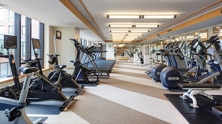 PropertyImage FourSeasonsHotelBoston Hotel PublicSpaces FitnessCenter CreditFourSeasons