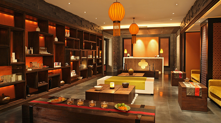 PropertyImage FourSeasonsHotelHangzhou Hotel 11 Spa Reception CreditFourSeasons