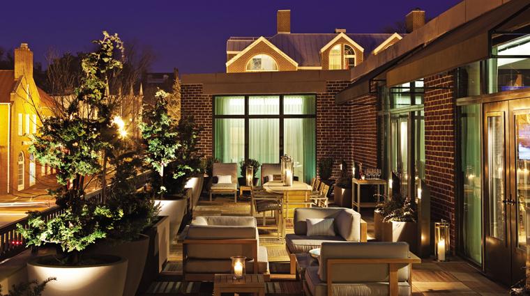 PropertyImage FourSeasonsWashingtonDC 5 Hotel GuestroomSuite RoyalSuite Terrace CreditFourSeasons